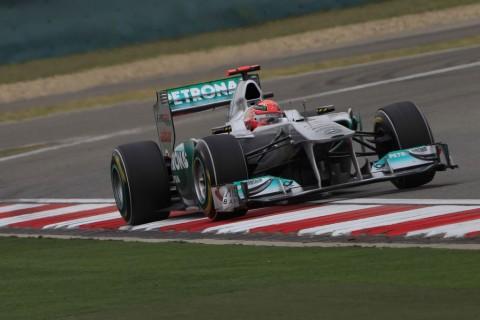 Michael Schumacher Cina