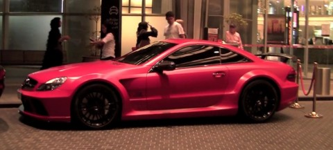 Mercedes-Benz SL 65 AMG Black Series Red Matte