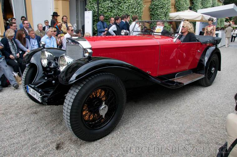 Mercedes-Benz 710 SS Tourer 1930