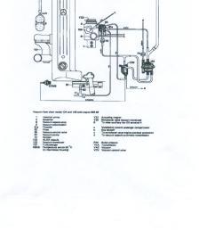 1992 mercede vacuum line diagram [ 1700 x 2200 Pixel ]