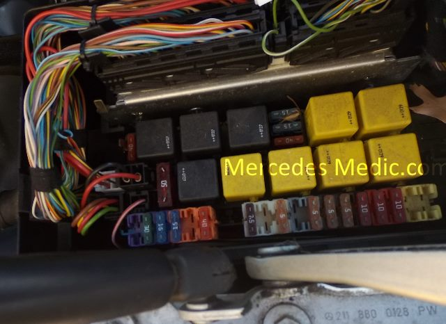 mercedes benz sl500 wiring diagram how to do a stem leaf s cl class w220 fuses and relays location designation 2000-2006 – mb medic