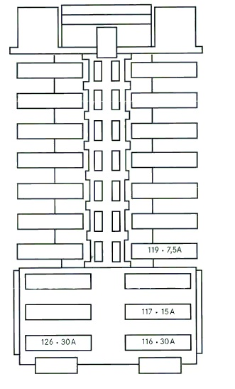 Wiring Diagrams C Class W204 2008 2014 Fuse List Chart Box Location Layout