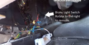 Brake Light Switch Problems and Solution – MB Medic