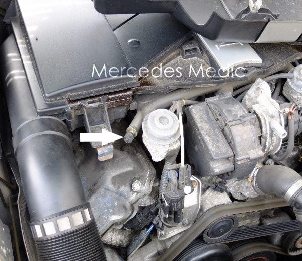 2013 Mercedes Ml350 Fuse Diagram Fuel Rail Schrader Valve Mb Medic