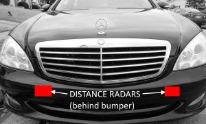 Mercedes Radar Sensor Problems & Solutions – MB Medic