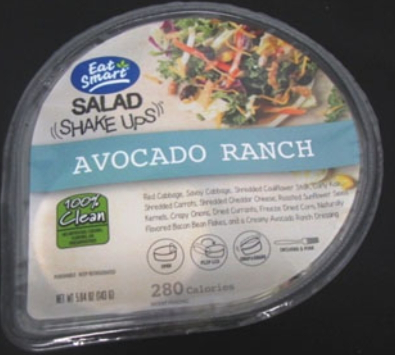 These are all the Salads on the recall