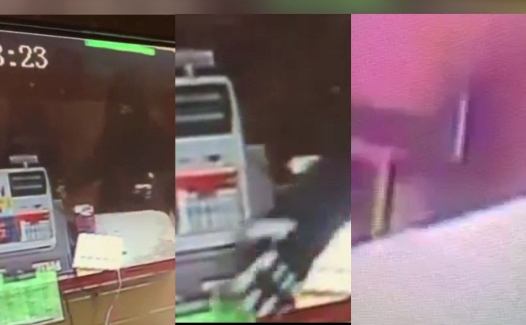 Man pulls register at Marios Taco Shop in Merced, video included