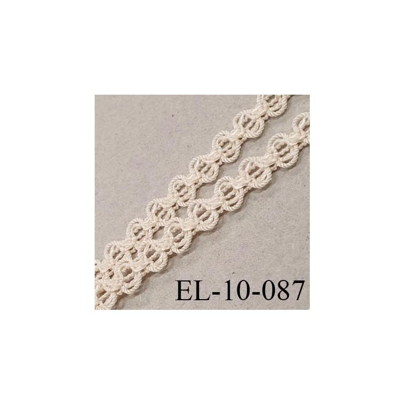 elastique 10 mm lingerie sg couleur lin clair fabrique france grande marque largeur 10 mm prix au metre