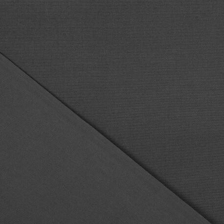 toile outdoor tissu uni largeur 320cm gris anthracite