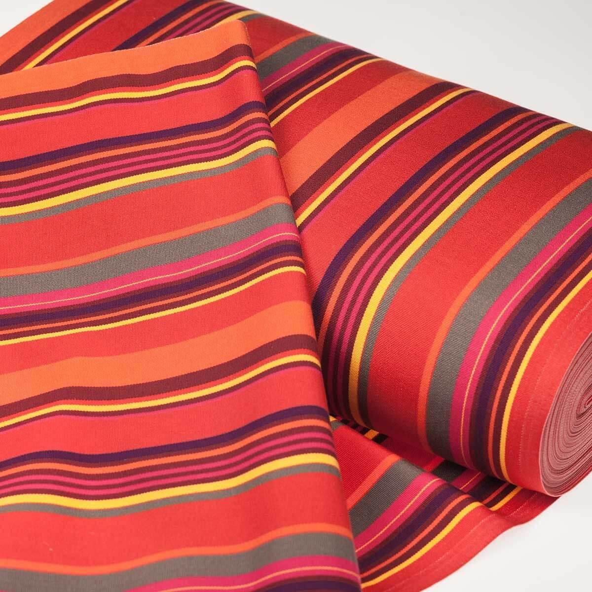toile transat outdoor hossegor 150cm x 43cm multicolore