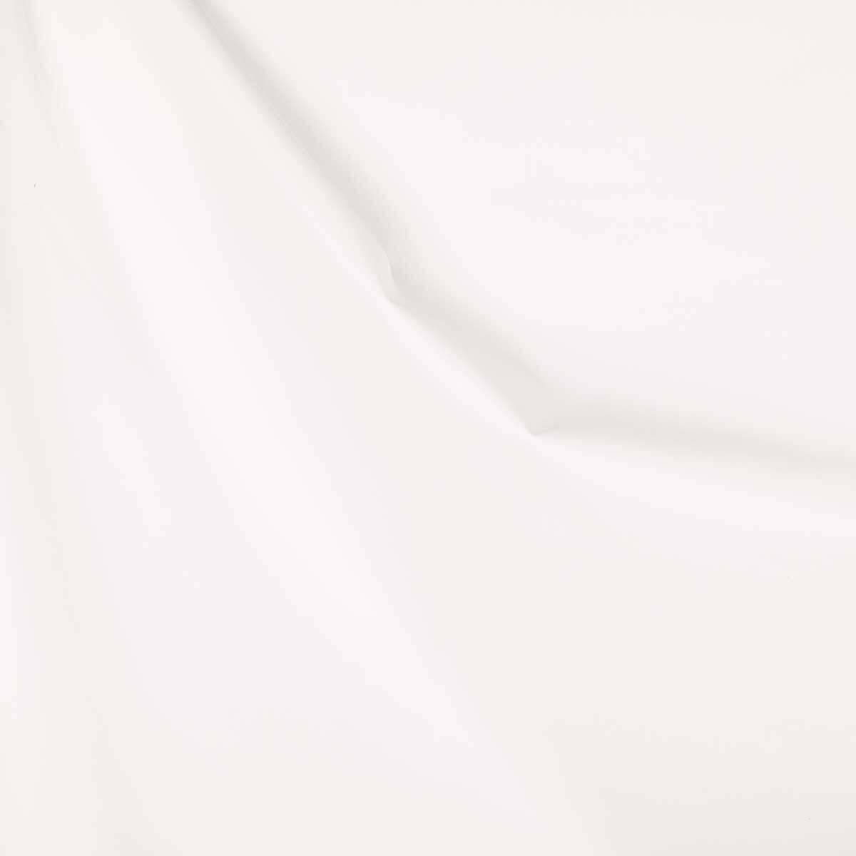 tissu occultant pour rideaux blanc