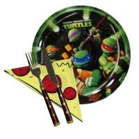Buy Teenage Mutant Ninja Turtles Pizza Set (1 plate, 1 ...