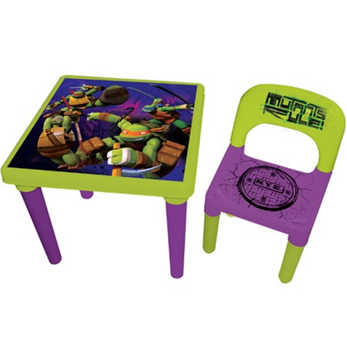 ninja turtles chair design new buy teenage mutant tmnt my first activity table set with creativity