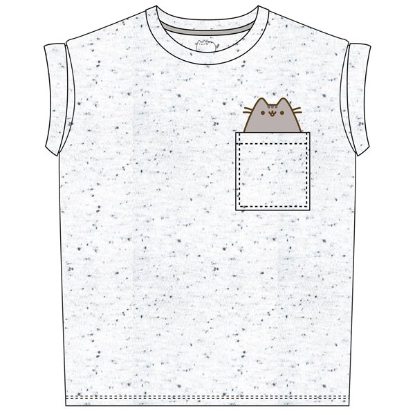 Official Pusheen T-shirt Pocket Pusheen: Buy Online on Offer
