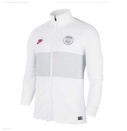 2019 2020 psg nike strike track jacket white