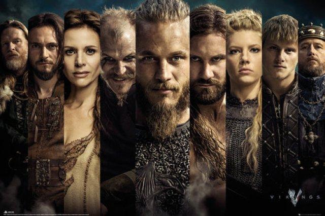 Poster Vikings Poster Vikings 137105 s - Séries que quero começar em 2017