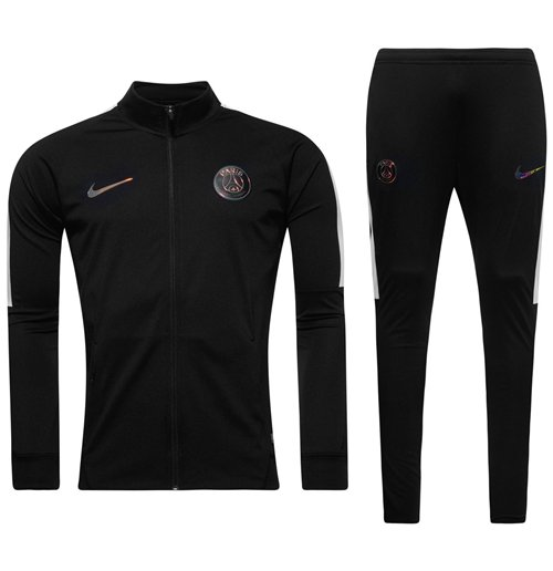 trainingsanzug paris saint germain 2016 2017 schwarz
