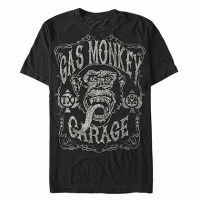 T-Shirts, Kleidung und Produkte Frikis Gas Monkey Garage ...