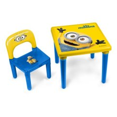 Activity Table And Chair Set Painted Kids Chairs Buy Minions My First With 30 Piece Creative