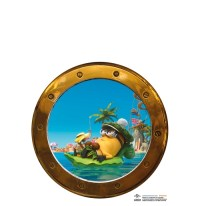 Official Minions Wall Sticker Boat: Buy Online on Offer