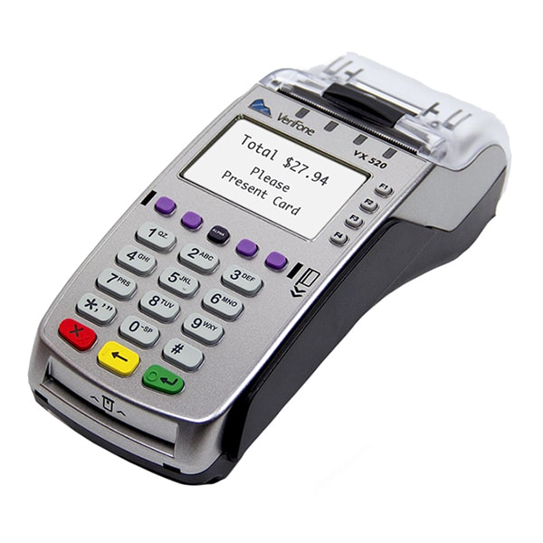 Verifone vx520 small business credit card machine solution verifone vx520 credit card terminal 70 reheart Gallery