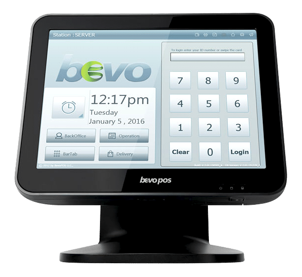 Bevos Windows Pos System Tablet Pos System Merchant