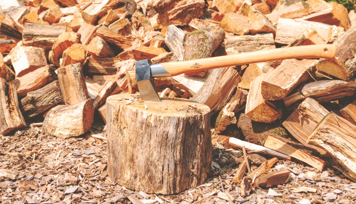 Image result for Things to Do Before Splitting Logs for Firewood