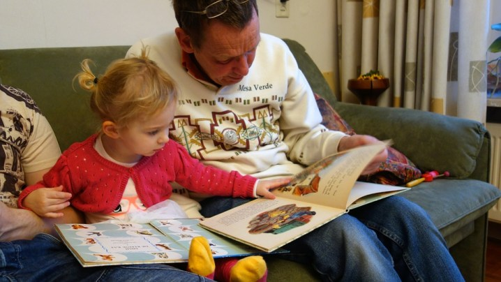 Reading Stories To Babies