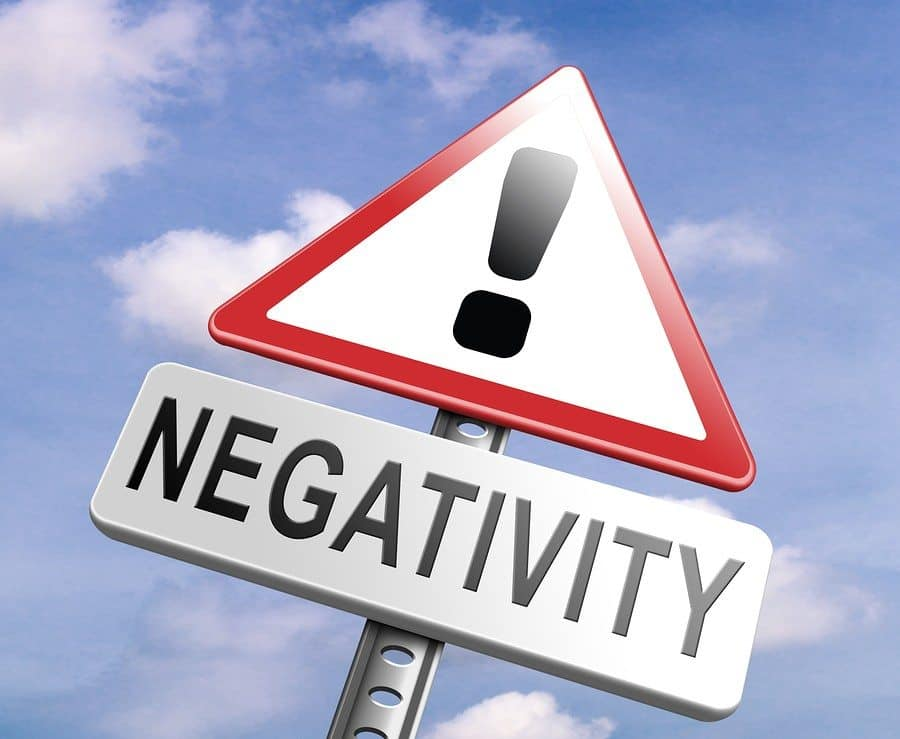 Image result for negativity