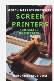 Guy Screen Printers for Sm Bus