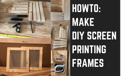 How To: Build DIY Screen Printing Screens