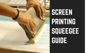 screen printing squeegee guide article featured image