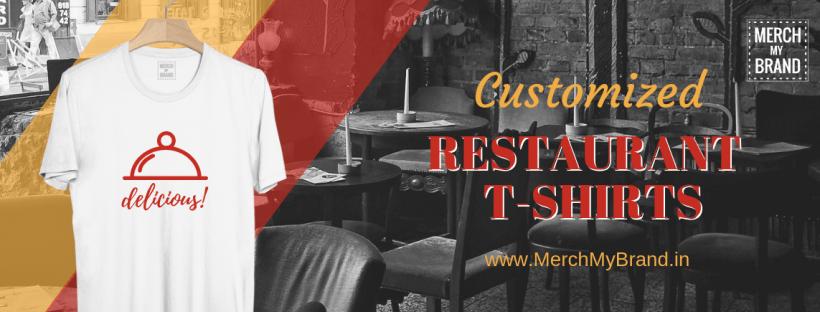 Customized Restaurant T-shirts