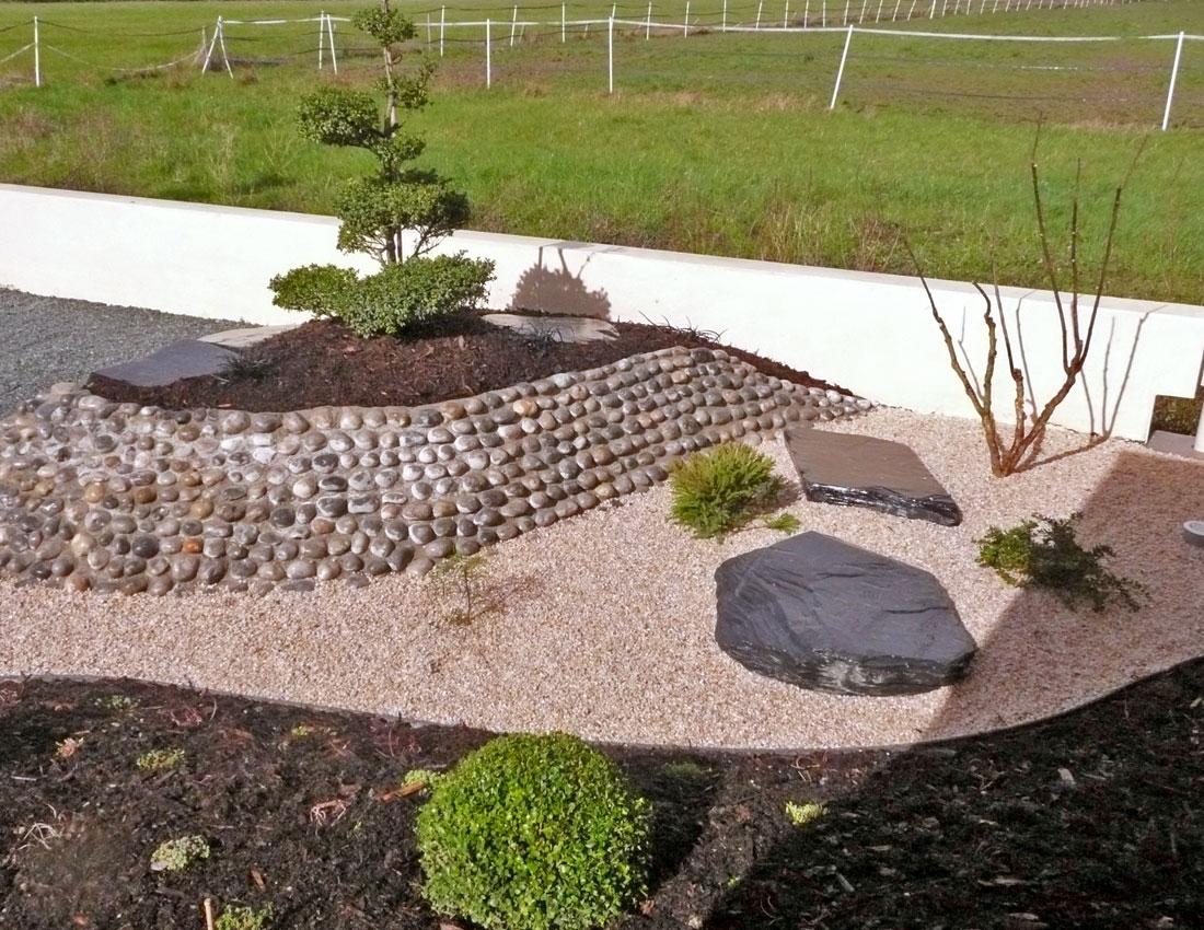 Jardin japonisant mercier paysage paysagiste for Entretien jardin angers