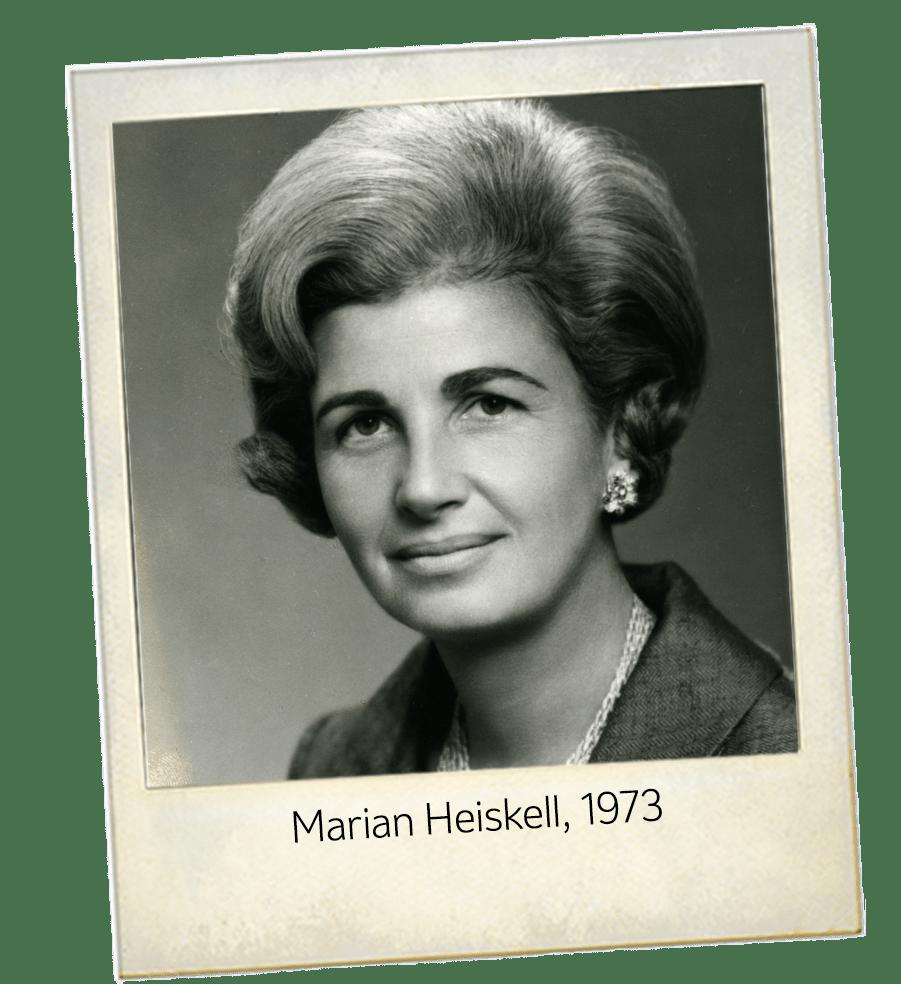 Marian Heiskell 1973