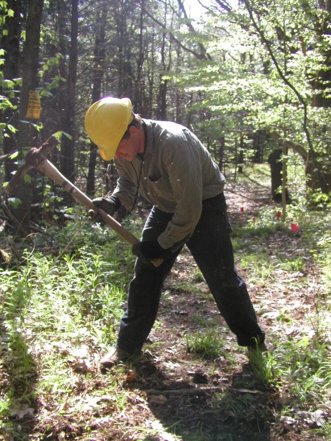 trail building vermont