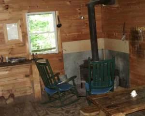inside vermont cabin rental