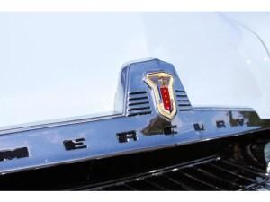 1954 Mercury hood fascia