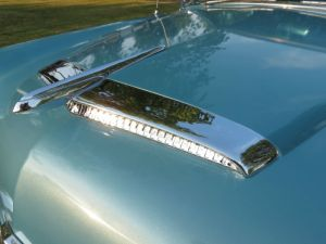 1954 Mercury hood scoop