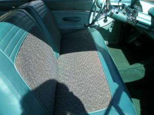 1960 Mercury Monterey tweed inserts