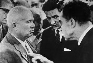 Nixon & Khrushchev ... old friends