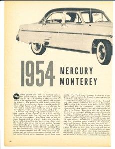 1954 Mercury Monterey Pg 1