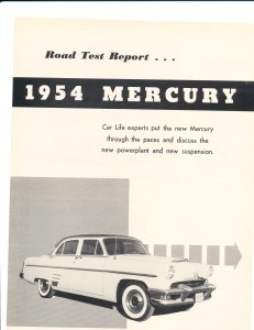 1954 Mercury Road Test Pg 1