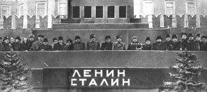 Dignitaries at Stalin's Funeral