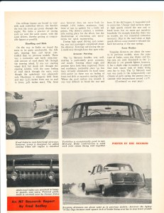 Testing the '52 Mercury Pg 2
