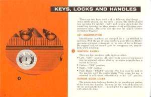 1961 Mercury Owners Manual Pg 3