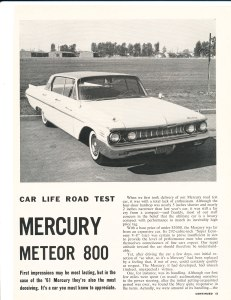 Mercury Meteor 800 Road Test Pg 1