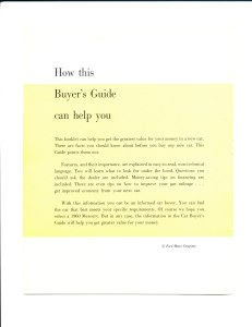 New Car Buyers' Guide - 1960_0002