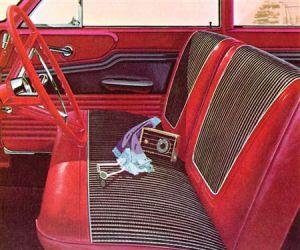 1962 Meteor interior