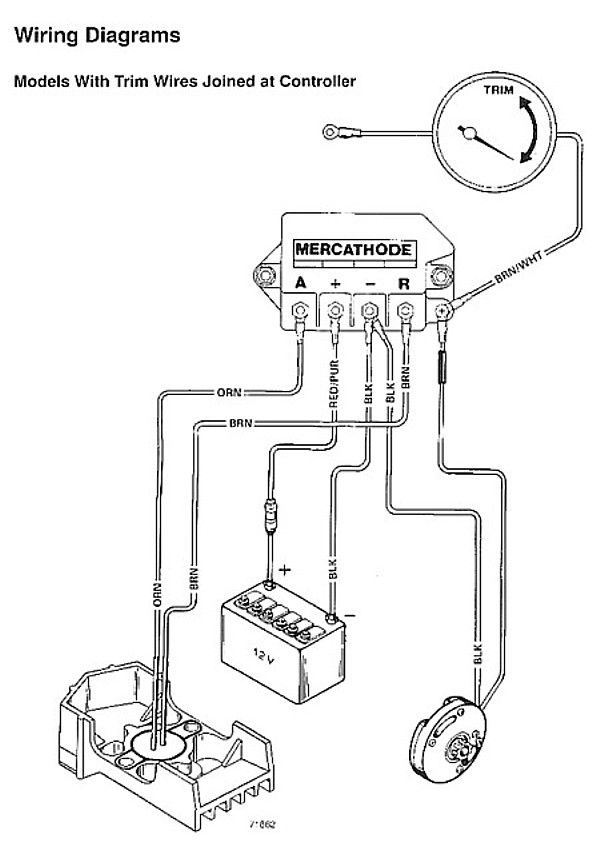 Mercruiser Trim Wiring Schematic : 32 Wiring Diagram